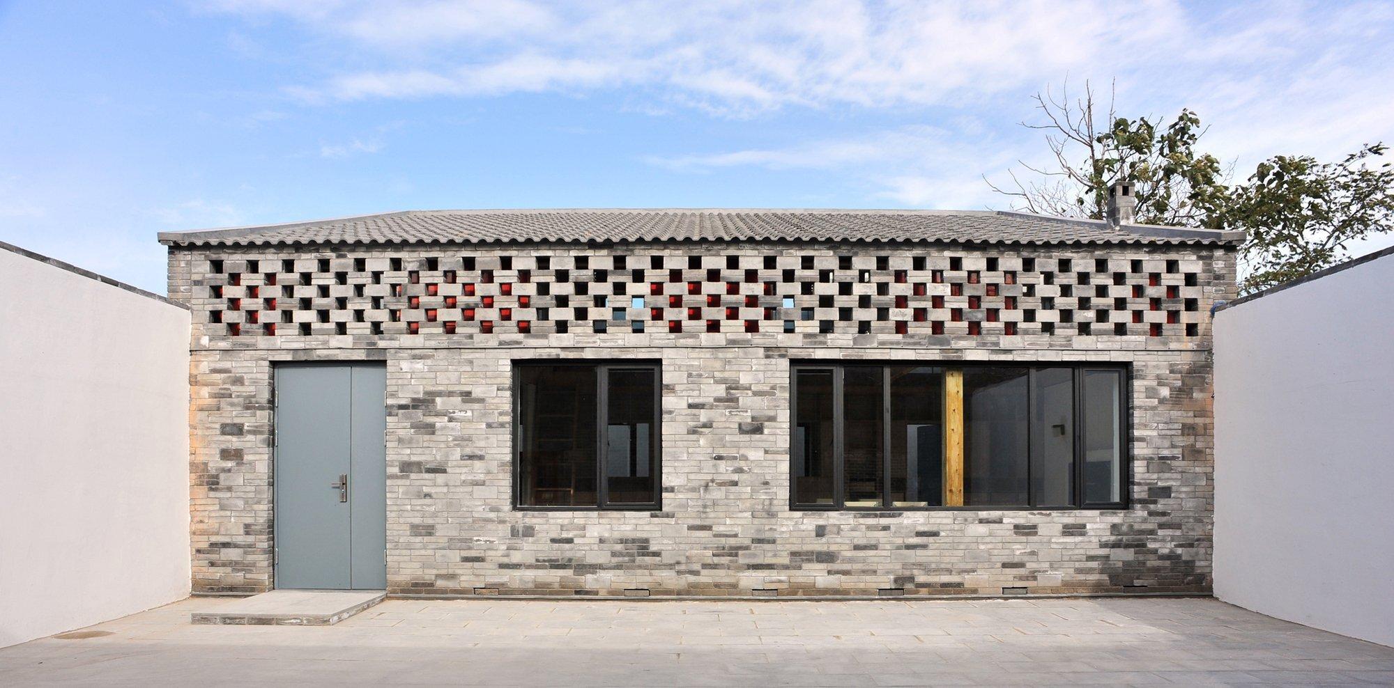 Ban House - Small House - Zhang Dongguang & Liu Wenjuan - Shaanxi China - Exterior - Humble Homes