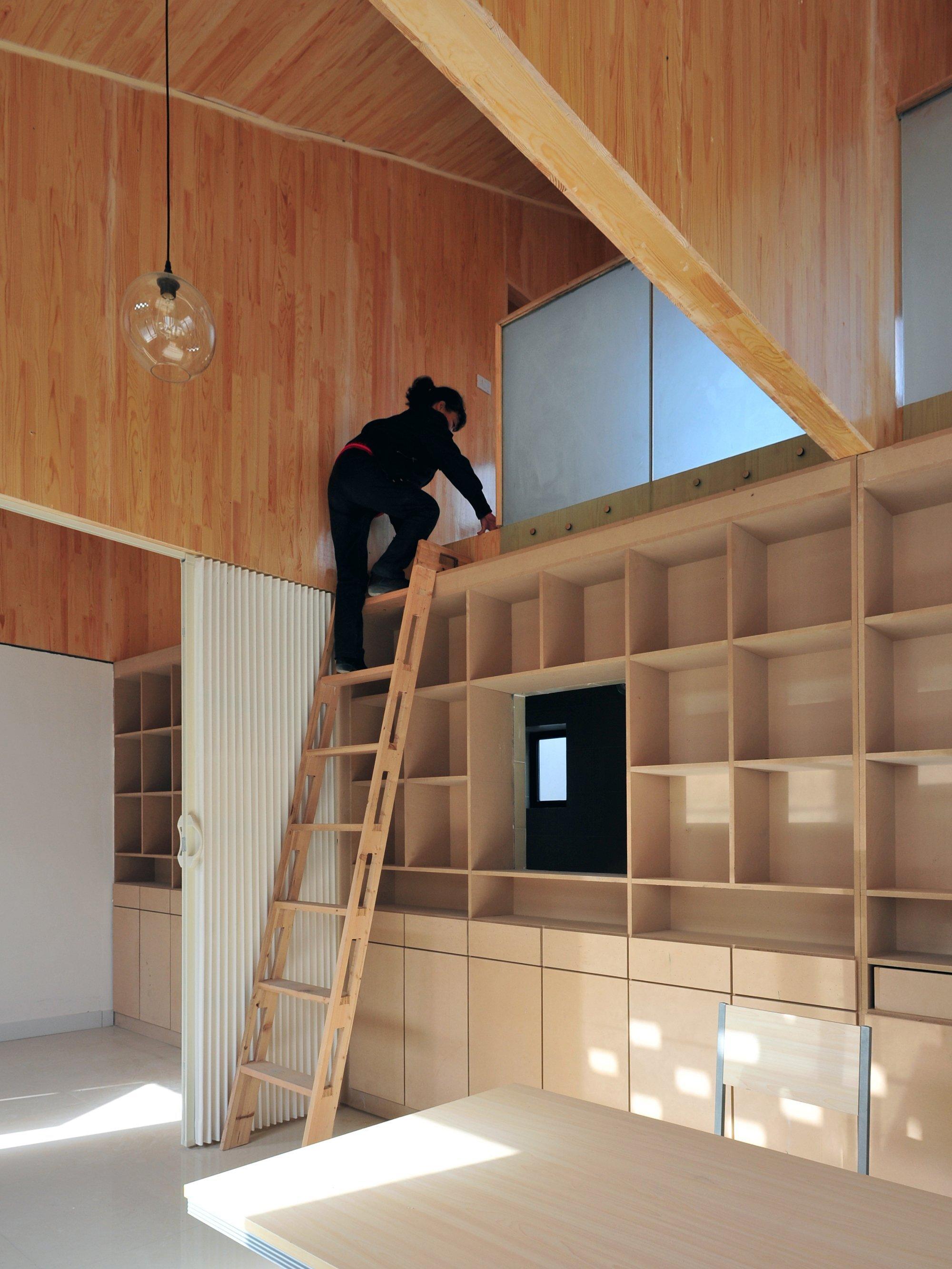 Ban House - Small House - Zhang Dongguang & Liu Wenjuan - Shaanxi China - Storage - Humble Homes