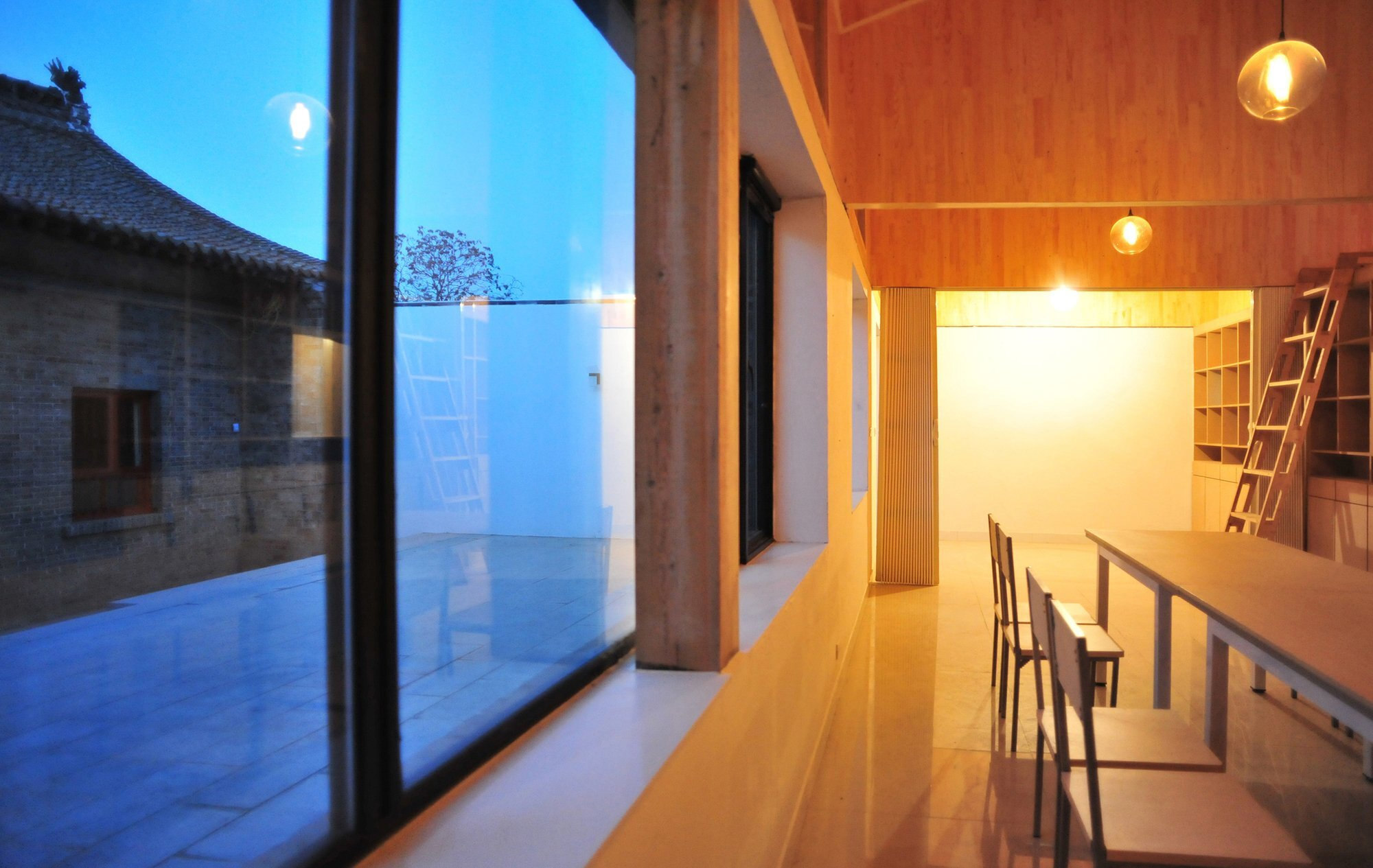 Ban House - Small House - Zhang Dongguang & Liu Wenjuan - Shaanxi China - Window View - Humble Homes