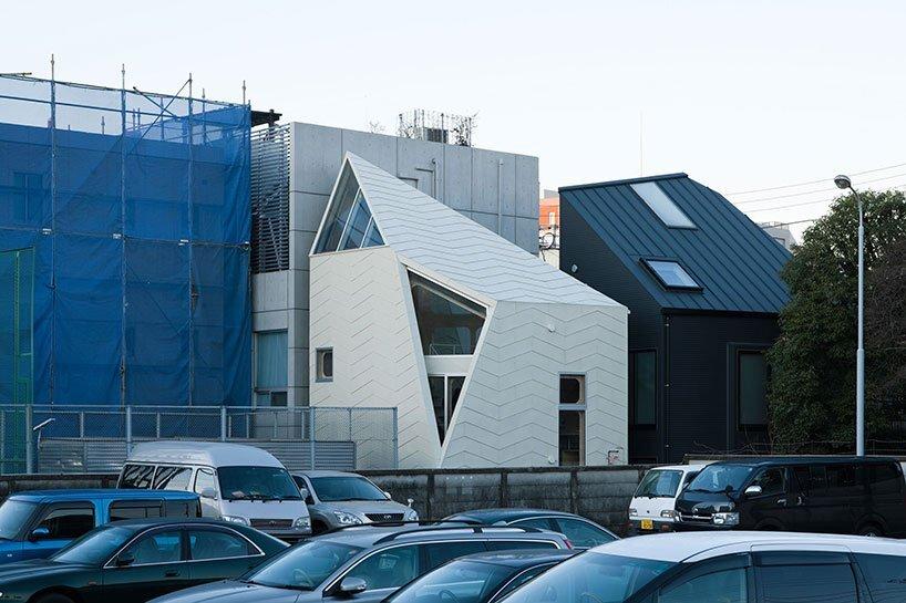 Bud House - Japanese House - Flat House - Tokyo - Exterior Humble Homes