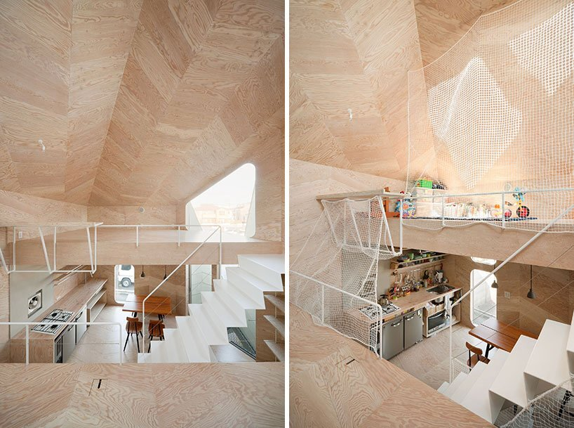 Bud House - Japanese House - Flat House - Tokyo - Kitchen & Playroom - Humble Homes