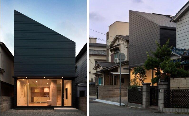 FKH - Japanese House - Shintaro Fukuhara - Kobe - Exterior - Humble Homes