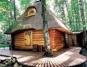 Fairy Tale Sauna - Artecology - Russia - Exterior - Humble Homes