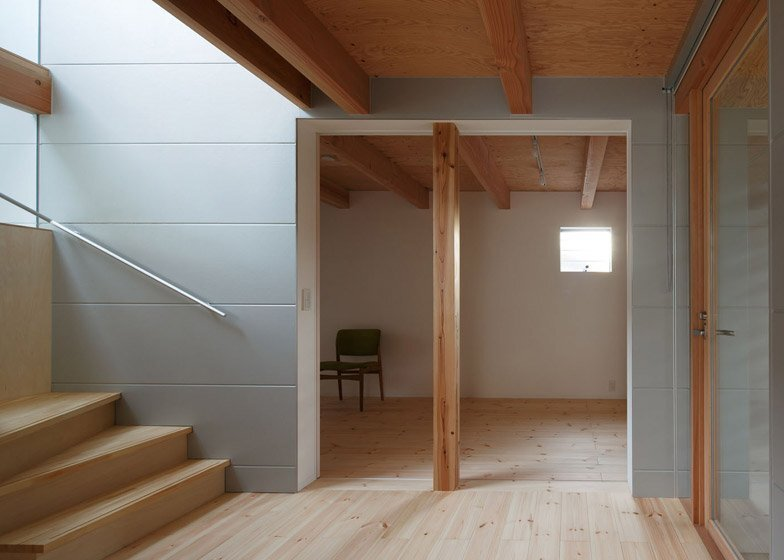 HouseAA - Small House - Moca Architects - Nara City - Bedroom - Humble Homes