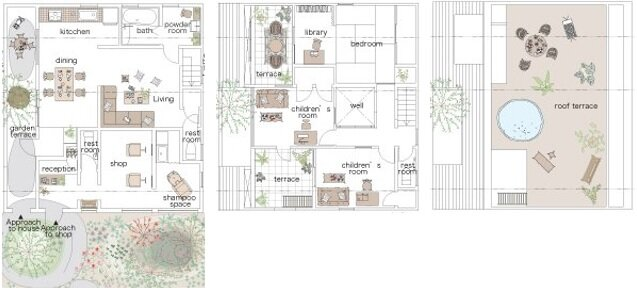 The Montblanc House - Studio Velocity - Japan - Floor Plan - Humble Homes