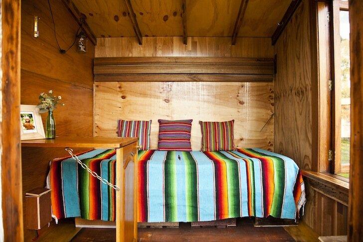 The Upcyclist - Tiny House - James Galletly - Australia - Seating - Humble Homes