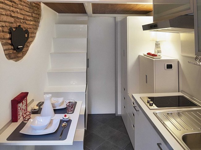 Tiny House - Marco Pierazzi - Rome - Living Area - Humble Homes