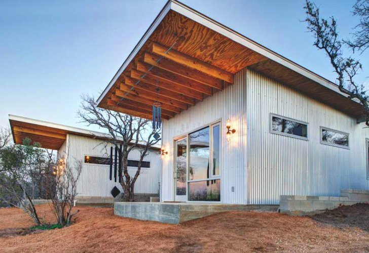 Tiny Houses - Llano Exit Strategy - Matt Garcia - Texas - Exterior - Humble Homes