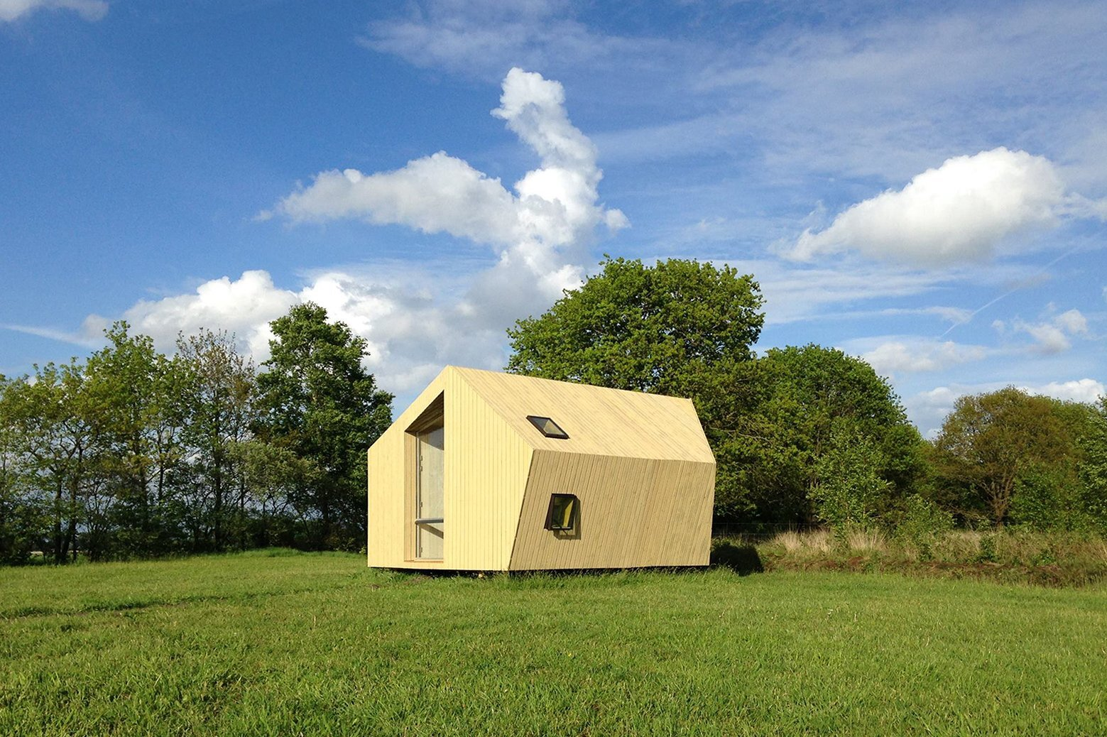 Treck-In Hickers Cabins - Small Cabin - MoodWorks Architecture - Kristel Hermans Architectuur - The Netherlands - Exterior - Humble Homes