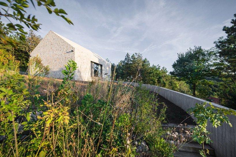 Compact Karst House - Small House - Dekleva Gregoric Arhitekti - Exterior - Humble Homes