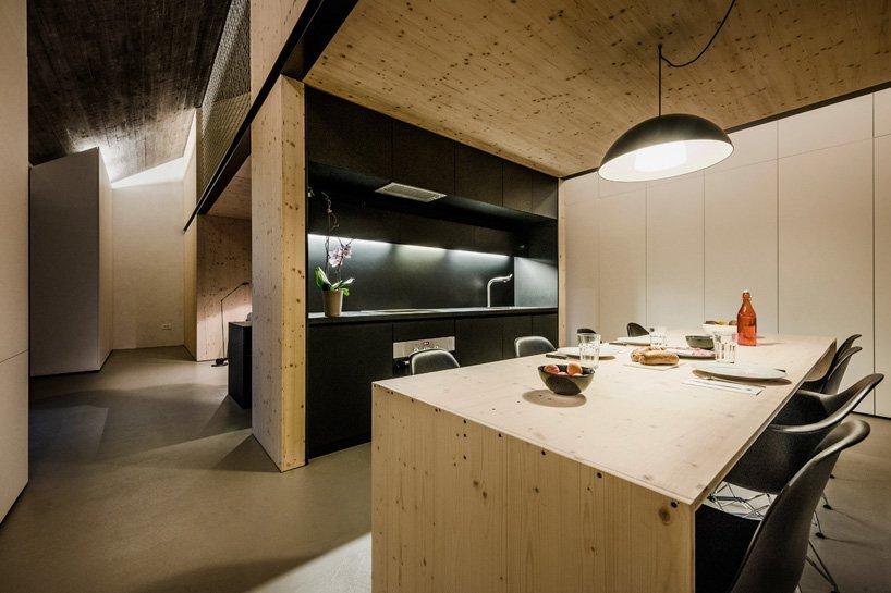 Compact Karst House - Small House - Dekleva Gregoric Arhitekti - Kitchen - Humble Homes