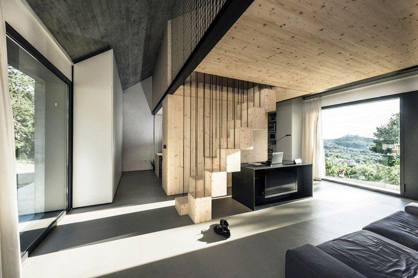 Compact Karst House - Small House - Dekleva Gregoric Arhitekti - Living Room - Humble Homes