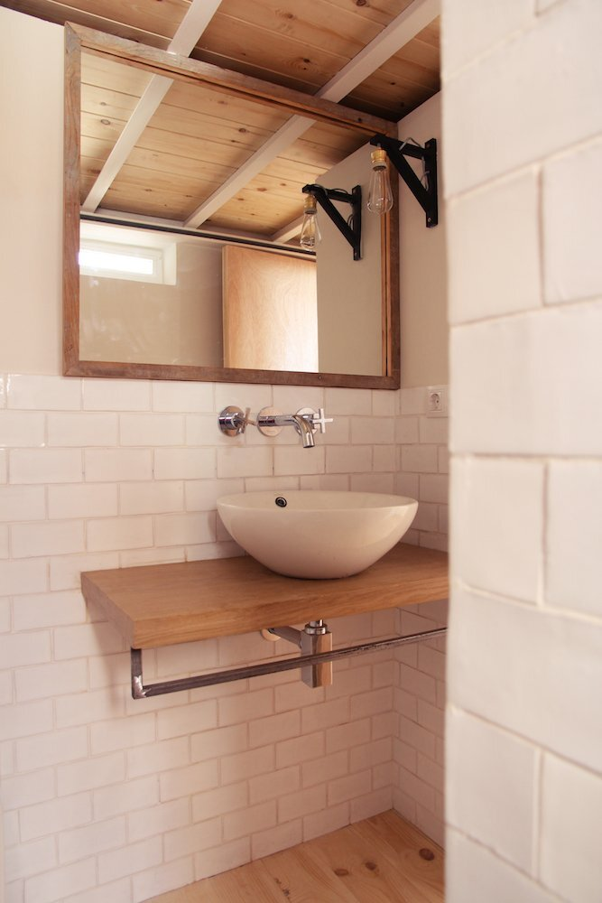 Micro Apartments - Enfoka - Lavapiés - Spain - Bathroom - Humble Homes