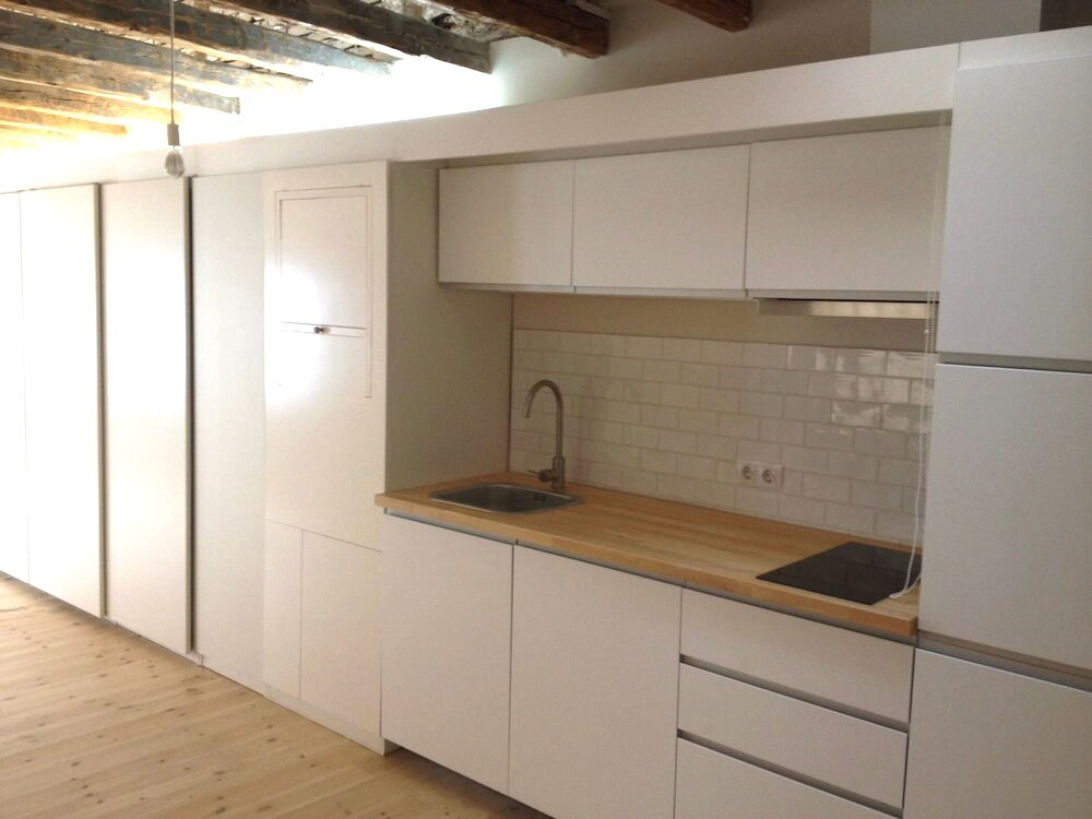 Micro Apartments - Enfoka - Lavapiés - Spain - Kitchen - Humble Homes