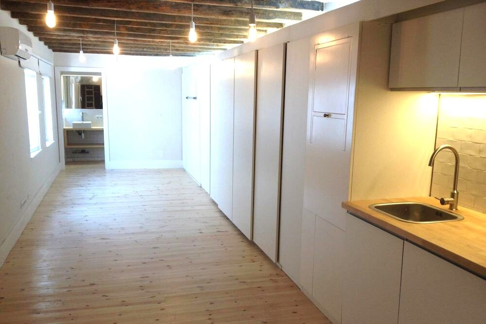 Micro Apartments - Enfoka - Lavapiés - Spain - Main Living Area - Humble Homes