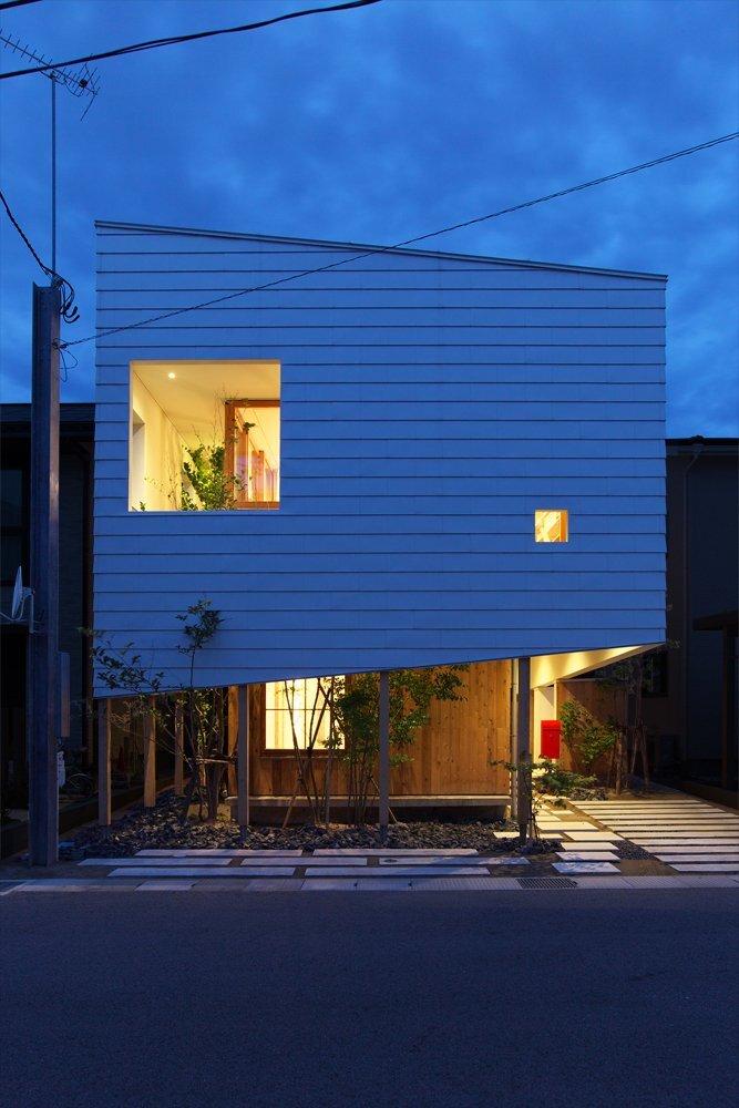 OH! House - Takeru Shoji Architects - Niigata - Exterior - Humble Homes