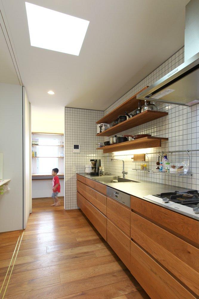 OH! House - Takeru Shoji Architects - Niigata - Kitchen - Humble Homes
