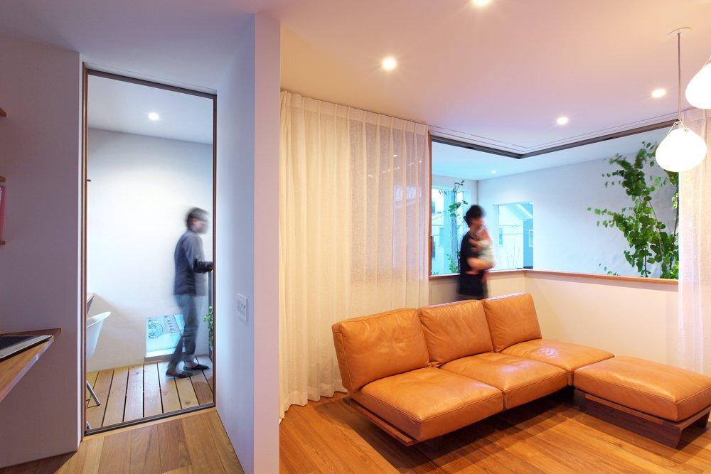 OH! House - Takeru Shoji Architects - Niigata - Living Room - Humble Homes
