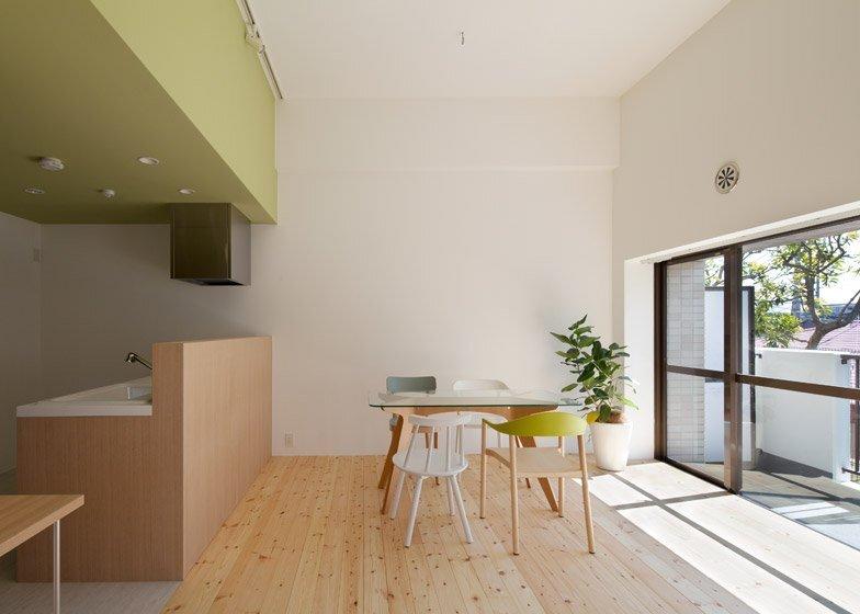 Small Apartment - Fujigaoka T - Sinato - Japan - Kitchen and Dining Room - Humble Homes