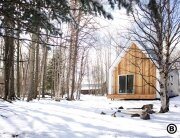 Small Cabin - The Warburg House - Bioi - Exterior - Humble Homes