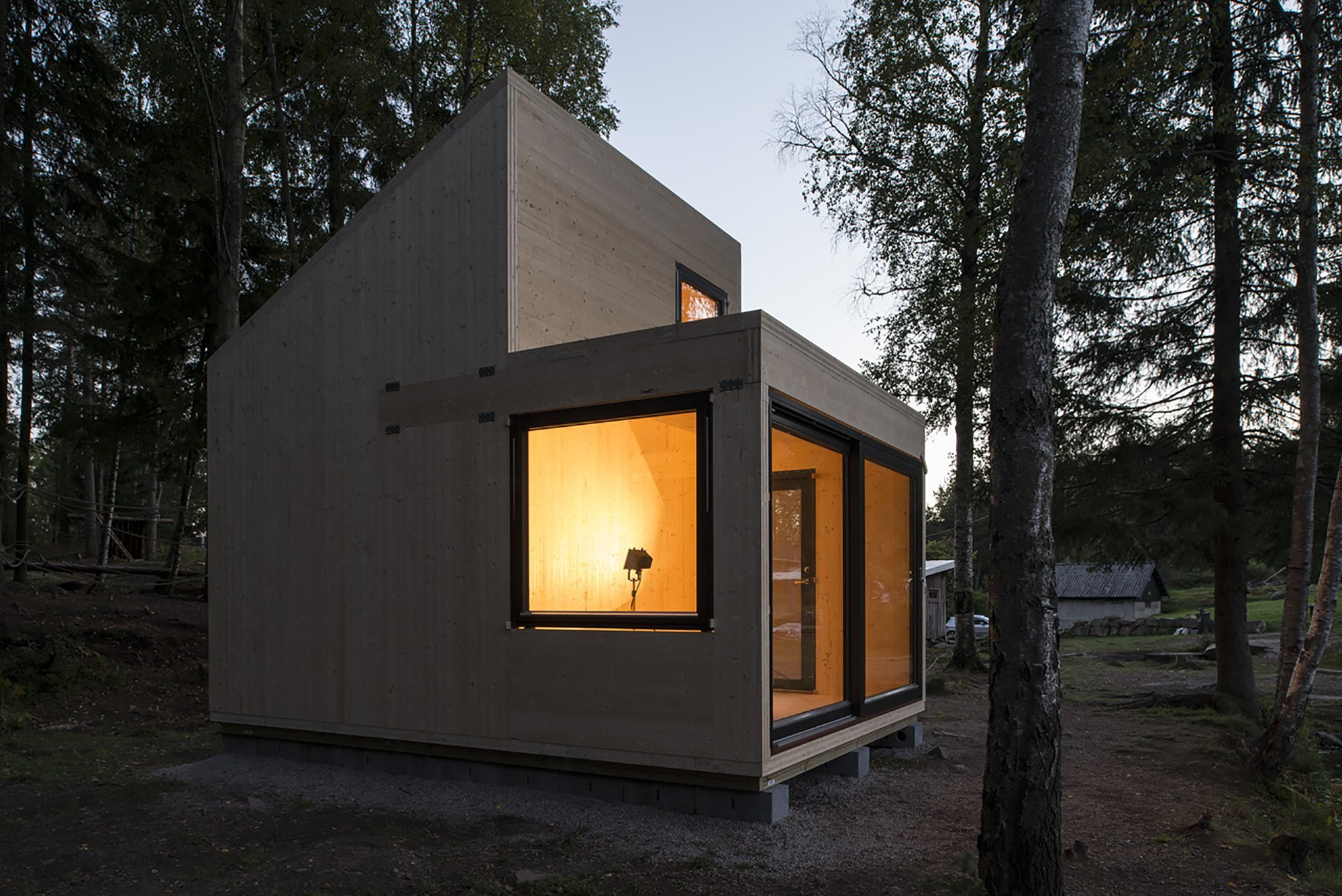 Woody15 A Tiny Cross Laminated Timber Cabin
