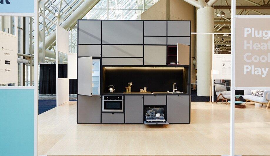 Modular Living the cubitat - a modular living unit in toronto