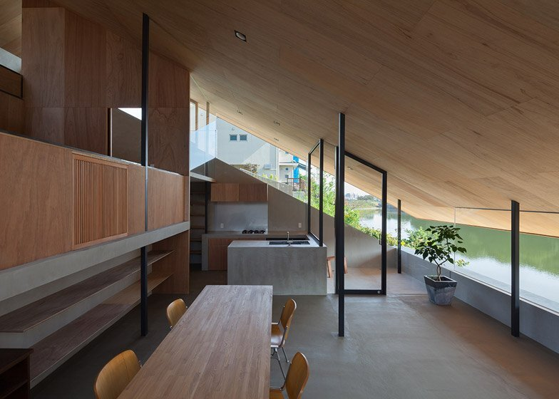 House in Hibaru - Suppose Design Office - Fukuoka Japan - Kitchen and Dining Area - Humble Homes