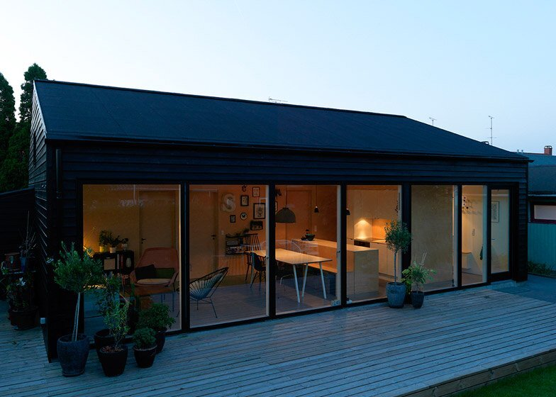 Sorte Hus An Affordable Small House in Denmark