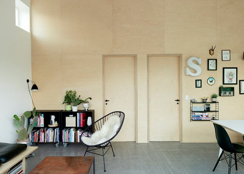 Low Cost Small House - Sigurd Larsen - Copenhagen - Living Area - Humble Homes
