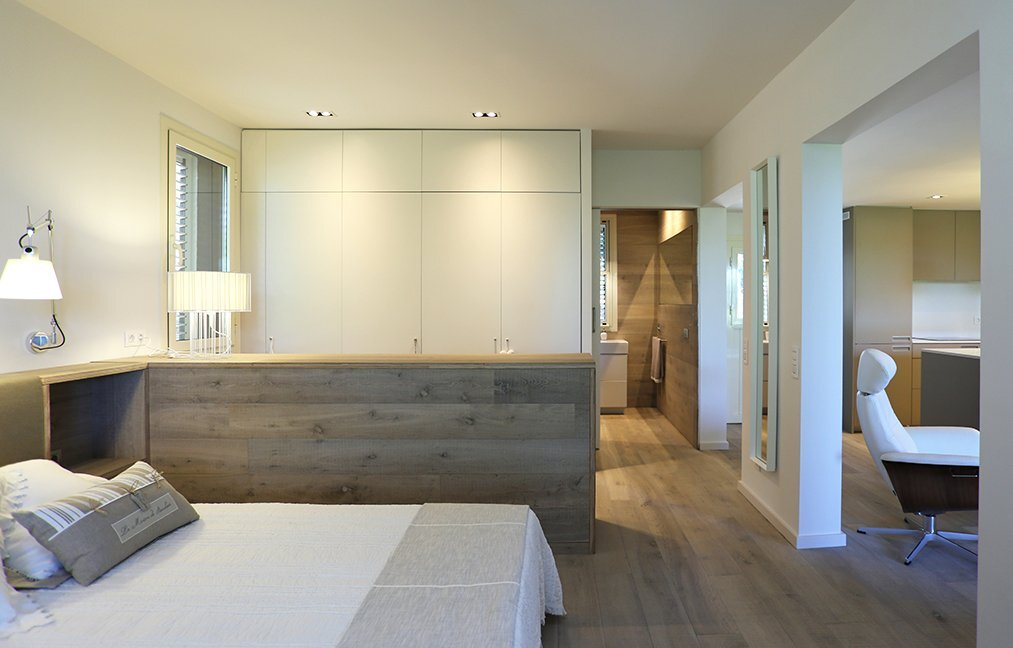 Mountain Guest House - Small House - Dom Architecture - Barcelona - Bedroom - Humble Homes
