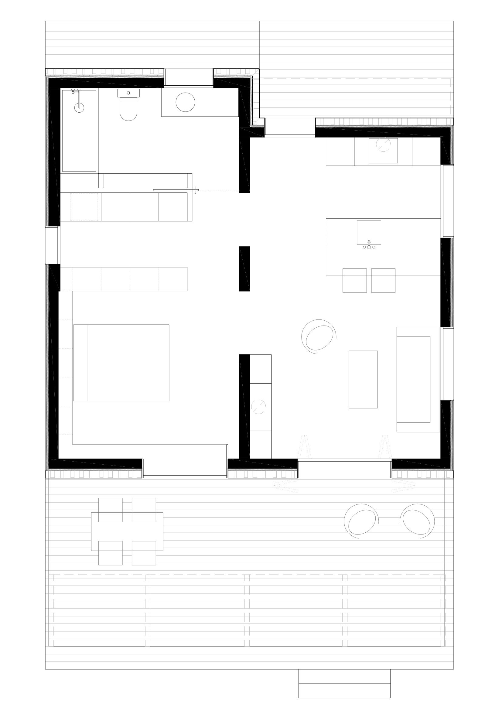 Mountain Guest House - Small House - Dom Architecture - Barcelona - Floor Plan - Humble Homes