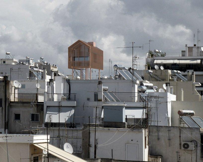 Rooftop Cabin - Deltarchi Panos Dragonas - Varvara Christopoulou - Athens - Exterior 1 - Humble Homes
