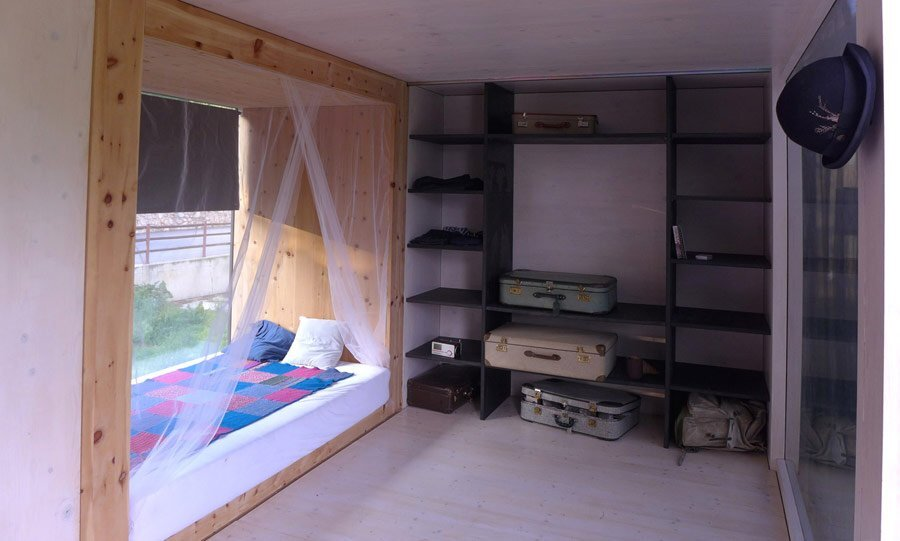 Lovely In And Out Patio #1: Simple-Home-Tiny-House-Gerhard-Feldbacher-Austria-Bedroom-Nook-Humble-Homes.jpg