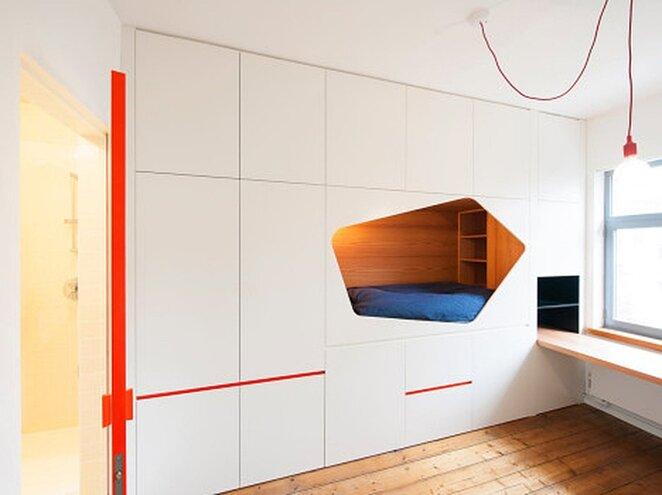 Sleeping Nook - Van Staeyen Interieur Architecten - Belgium - Interior 1 - Humble Homes