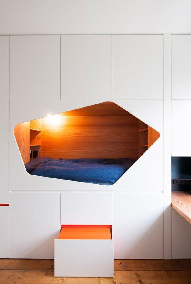 Sleeping Nook - Van Staeyen Interieur Architecten - Belgium - Interior 3 - Humble Homes