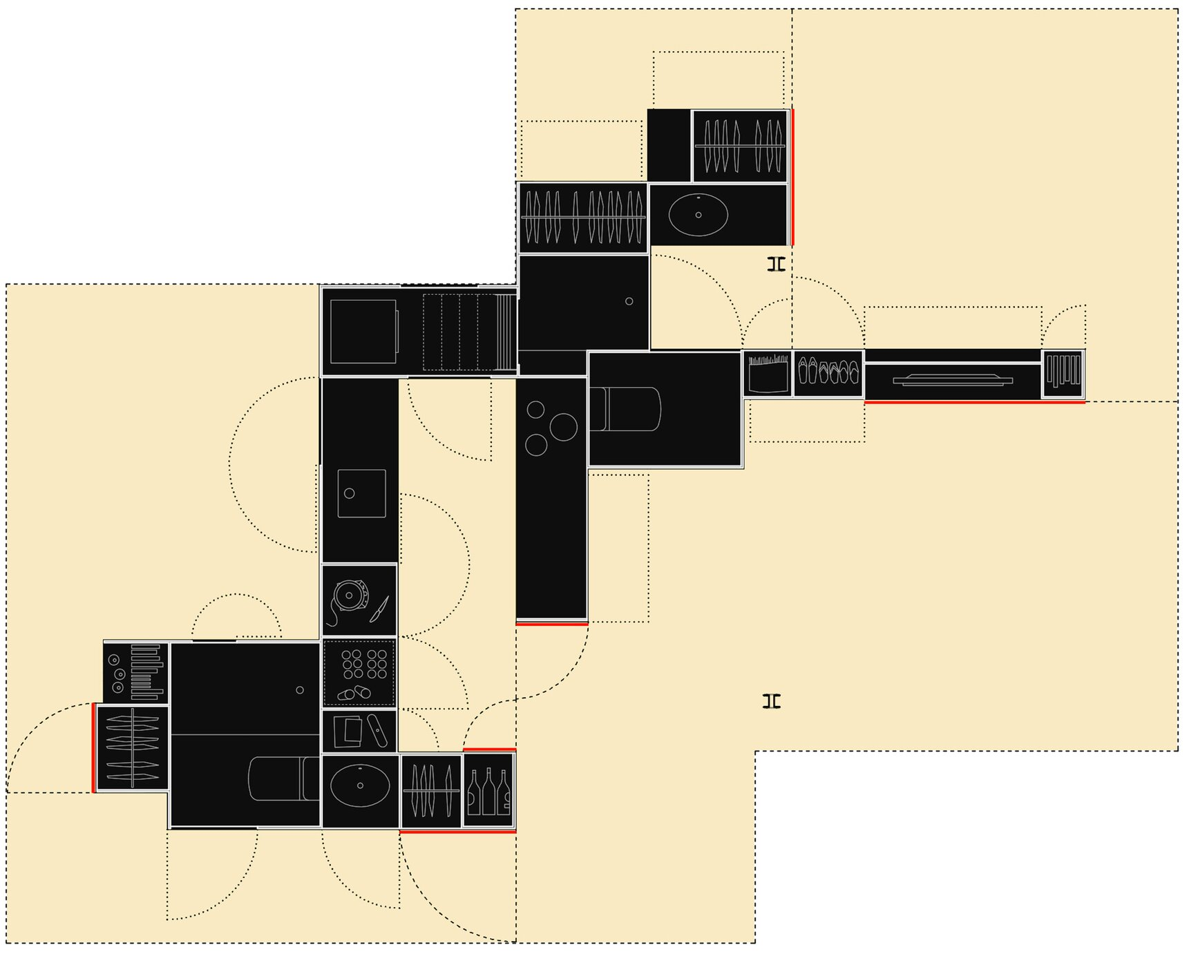 Small Apartment The Pop Up House Tallerde2 Arquitectos Floor Plan Humble