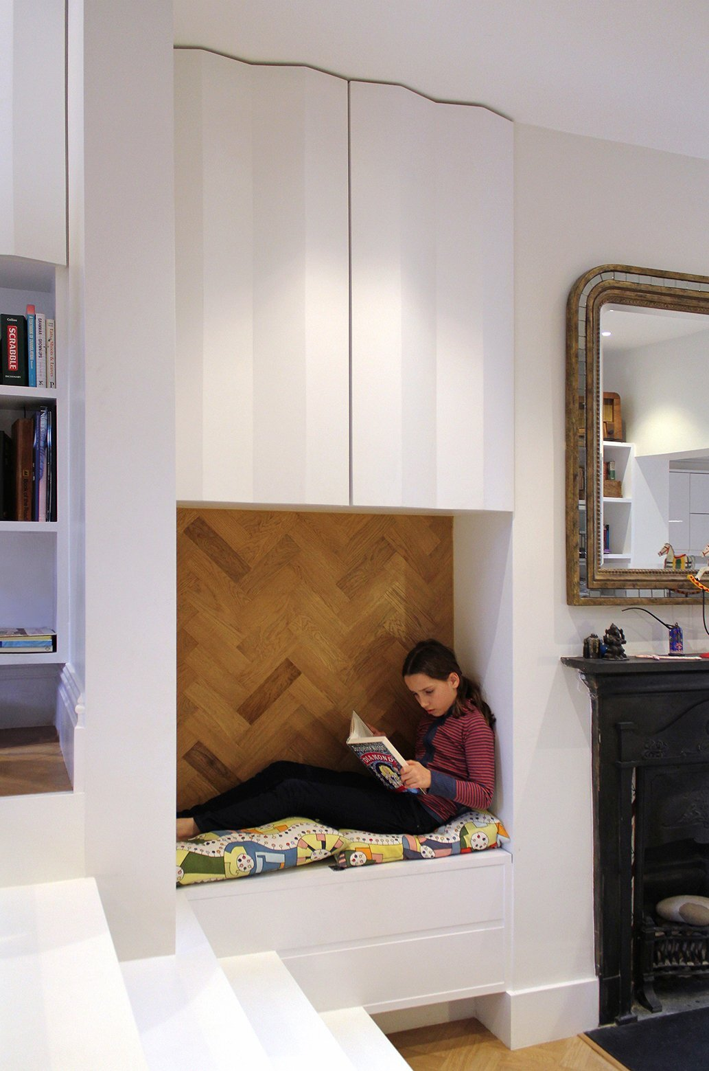 Small House - Zminkowska de Boise Architects - London - Reading Nook - Humble Homes