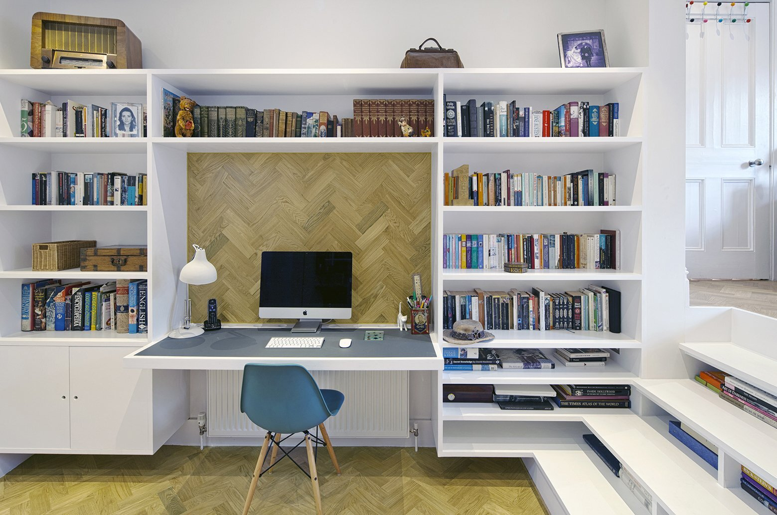 Small House - Zminkowska de Boise Architects - London - Work Station - Humble Homes