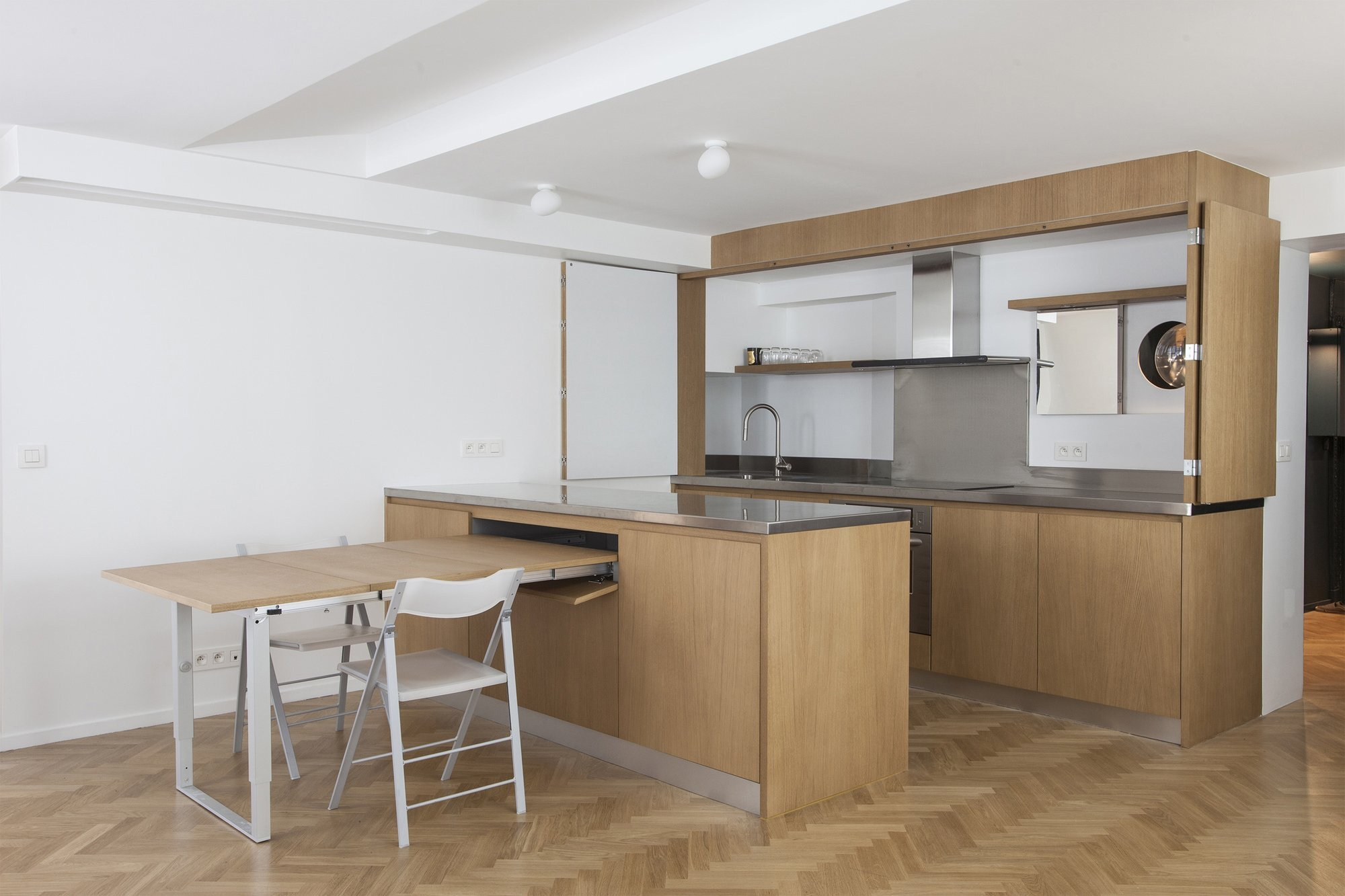 Apartment Remodel - Alia Bengana - Paris - Kitchen Open - Humble Homes