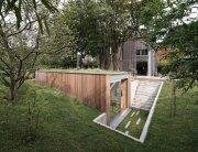 Atelier Pam&Jenny - l'escaut - Belgium - Sunken Studio - Exterior - Humble Homes