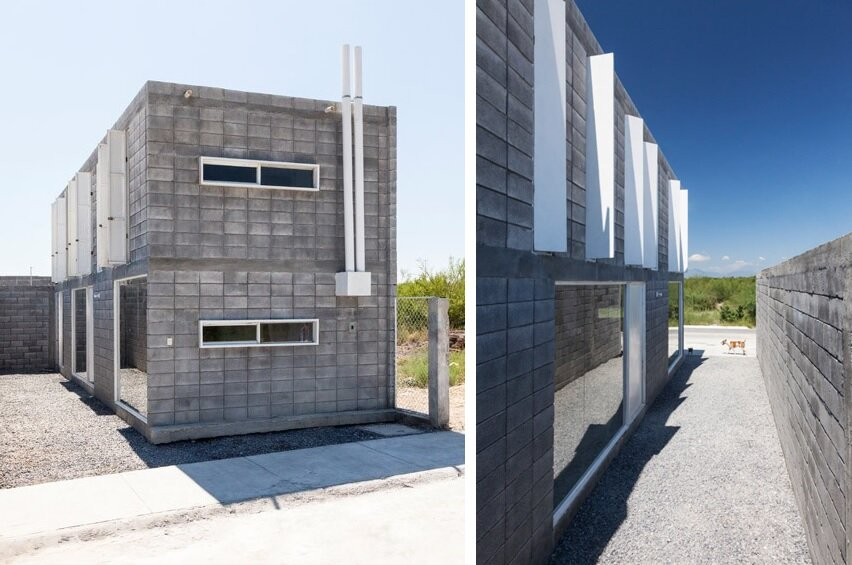 Amazing Casa Caja An Affordable Small House Built By The Owners Largest Home Design Picture Inspirations Pitcheantrous