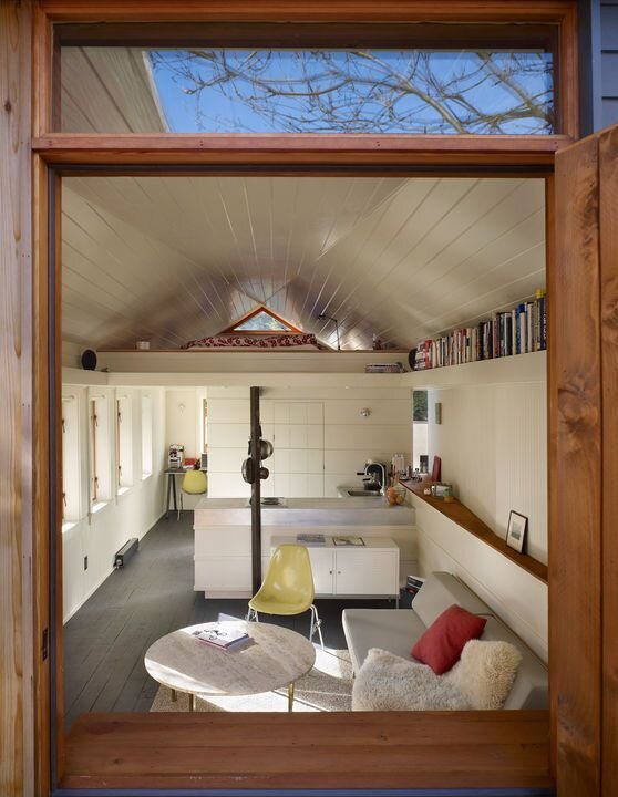 Seattle 1920s Garage Converted Into Cozy Tiny House