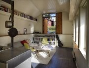 Garage Transformation - Garage Studio - SHED Architecture and Design - Seattle - Living Area 2 - Humble Homes