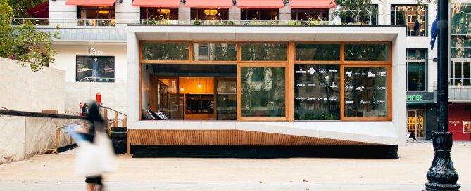 Prefab Tiny House - ArchiBlox - Carbon Positive House - Australia - Exterior - Humble Homes