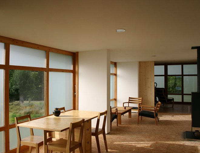 Small House - House in The Meadow - ARBA - France - Living Area - Humbe Homes