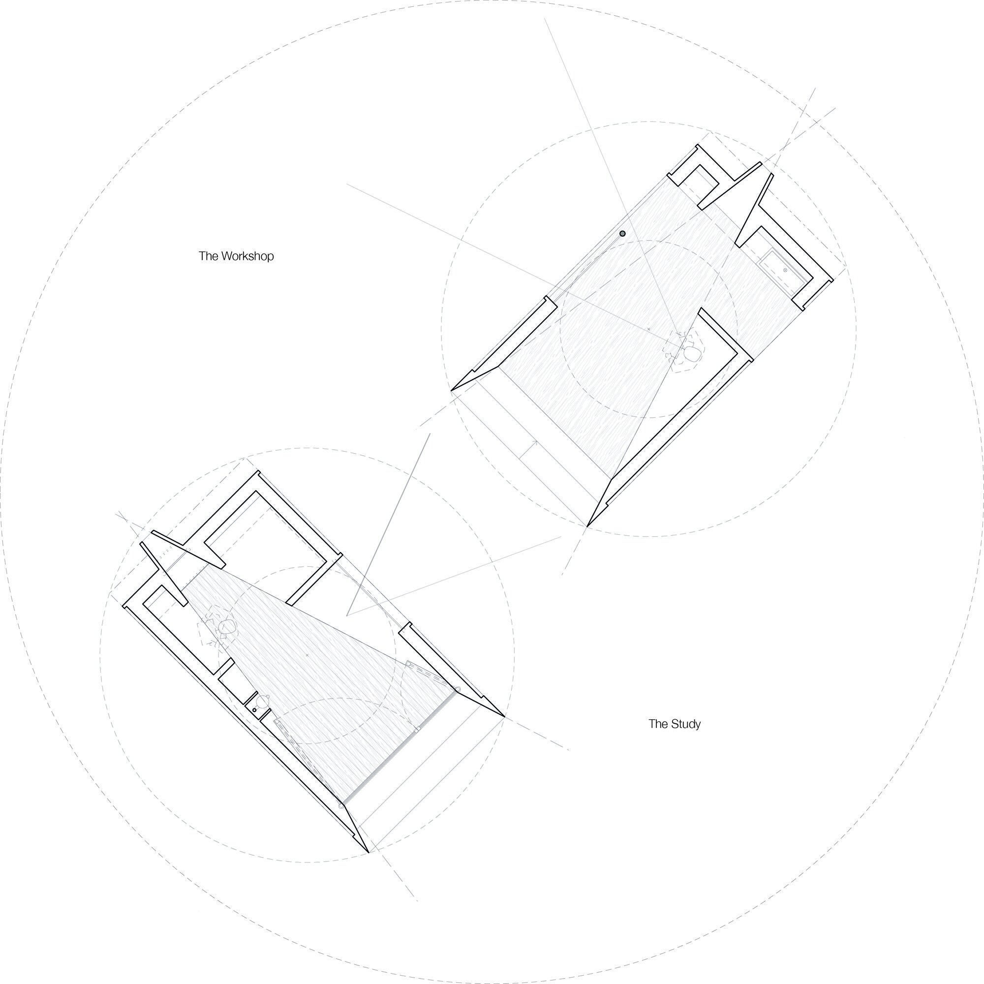 The Observatories - SPUD - Dorset - Floor Plans - Humble Homes