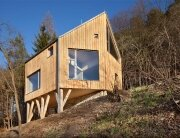 Wooden Cabin - Small Cabin - A-LT Architekti - Czech Republic - Exterior - Humble Homes