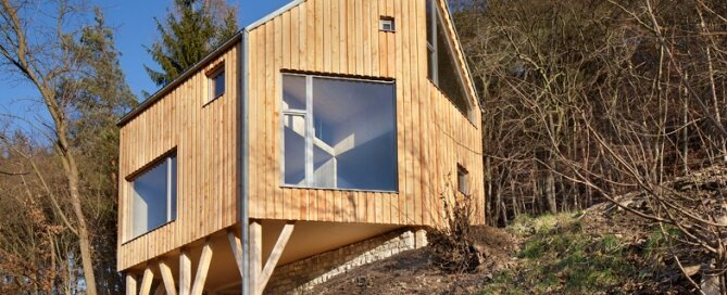 Wooden Cabin Small Cabin A LT Architekti Czech Republic
