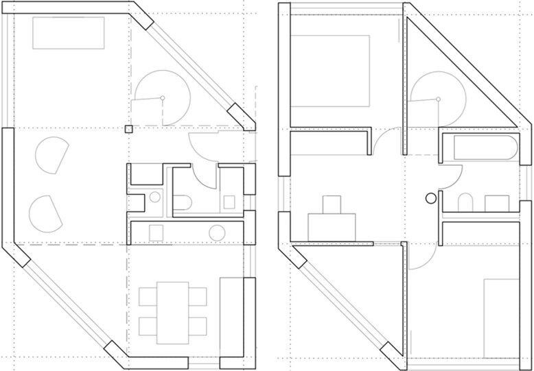 small hexagon house plans small hexagon house plans