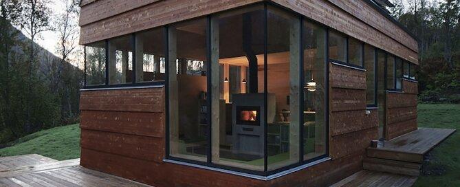 Cabin Laksvatn Hamran Johansen Arkitekter Norway Exterior